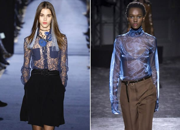 Blouses-for-women-Translucency-Blouse-trends-2017-blouse-design-2017