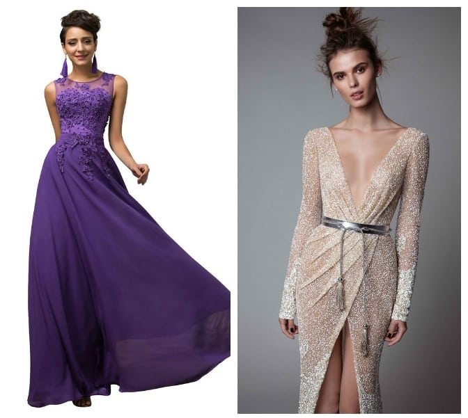 Christmas Dresses 2018 Trends For Party Purple