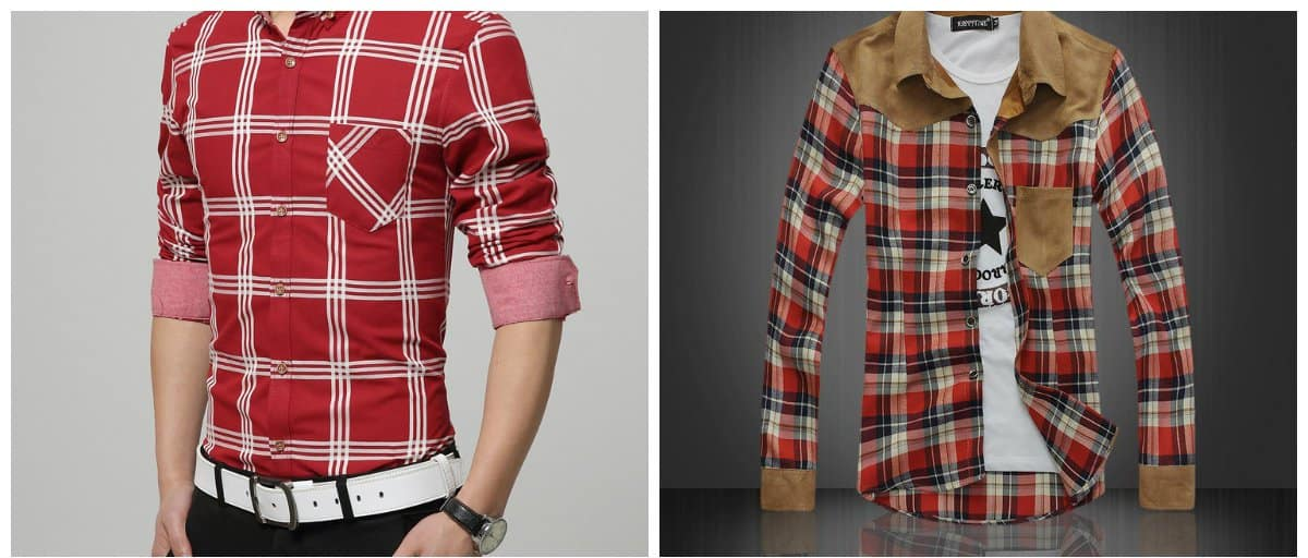 mens-shirts-2018-checkered-mens shirts 2018-shirts for men