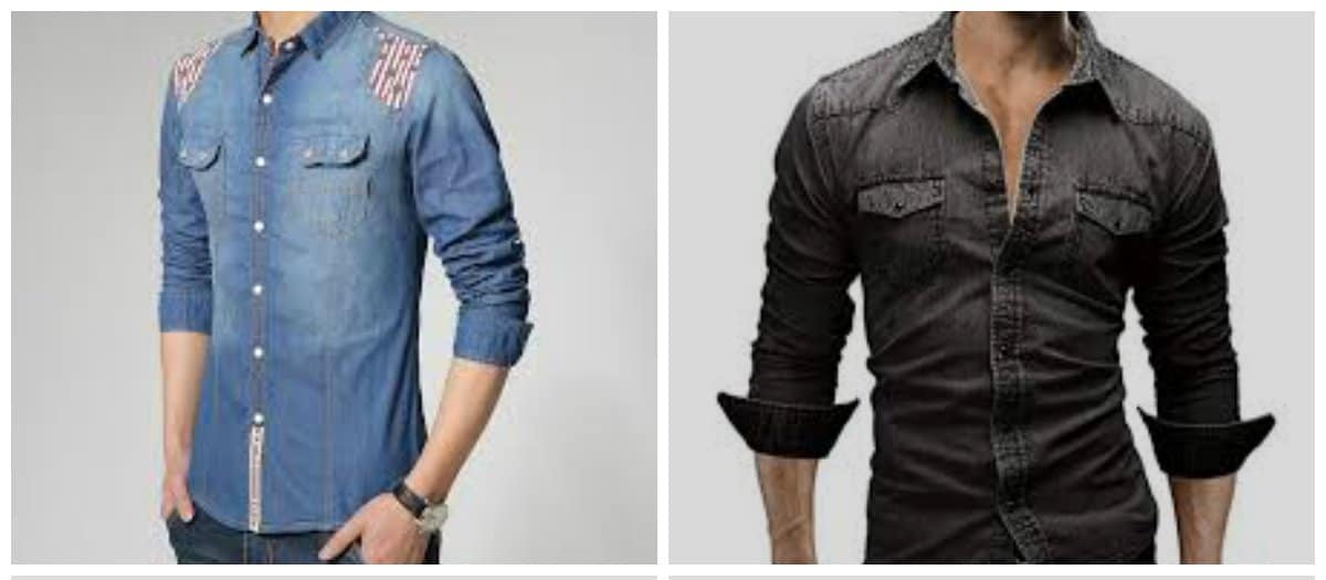 mens-shirts-2018-denim-mens shirts 2018-shirts for men