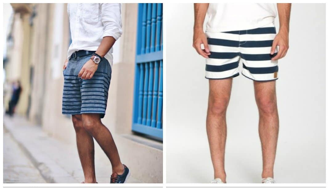 mens-shorts-2017-strips-Shorts for men 2017