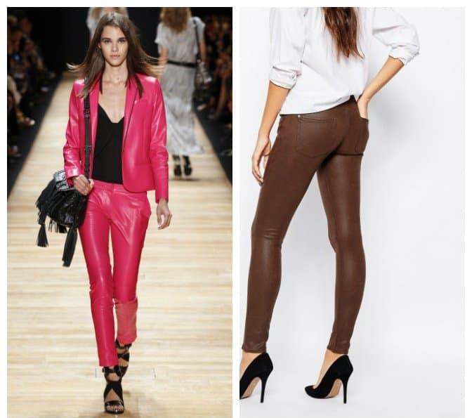 pants-2017-leather-dress pants for women-Pants 2017