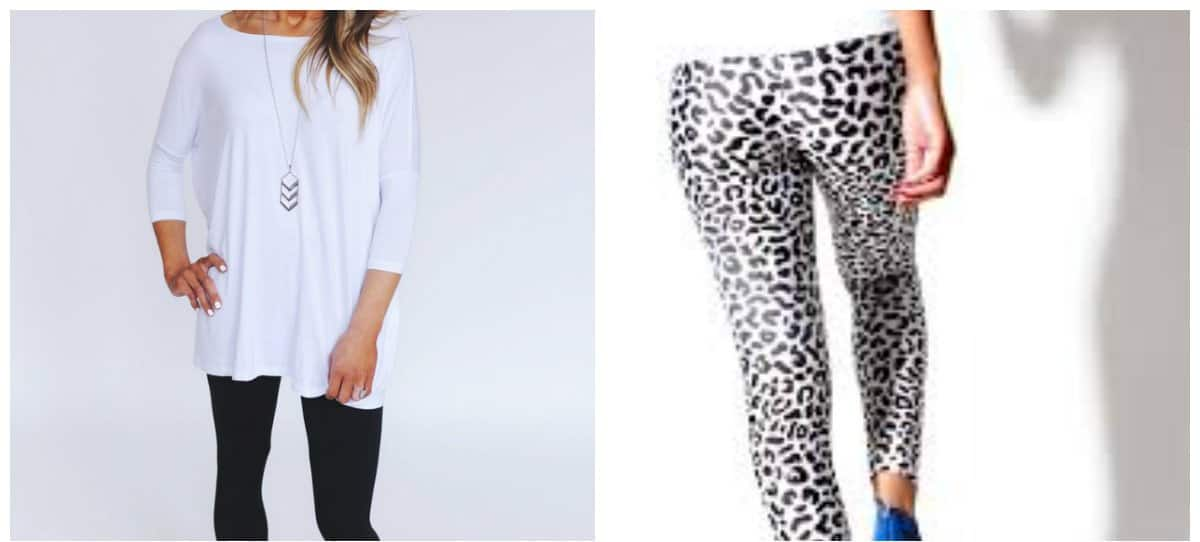 leggings-2018-leopard-print-and-white-tops for leggings-Leggings 2018