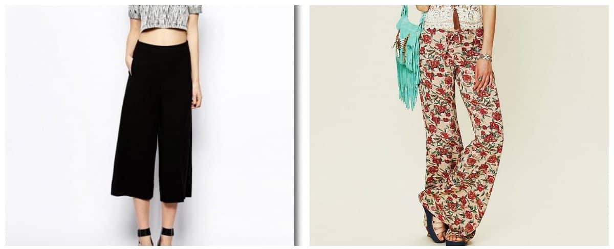 women dresses-2018-bell-bottom-trousers-Fashion dresses 2018-Women dresses 2018
