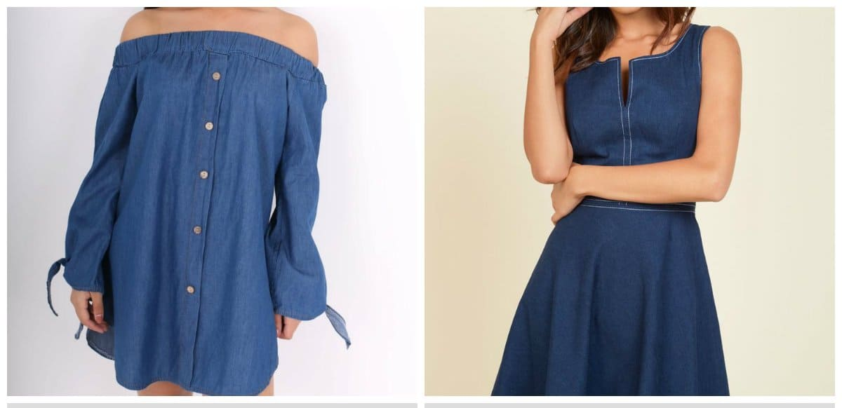 fashion-trends-2018-2018-clothing-trends-dress-trends-2018-fashion-colors-2018-denim- dress trends 2018