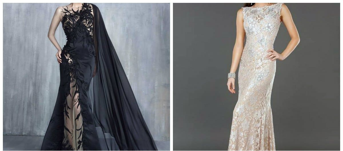 Evening dresses 2018: Classic and stylish trends for evening wear 2018