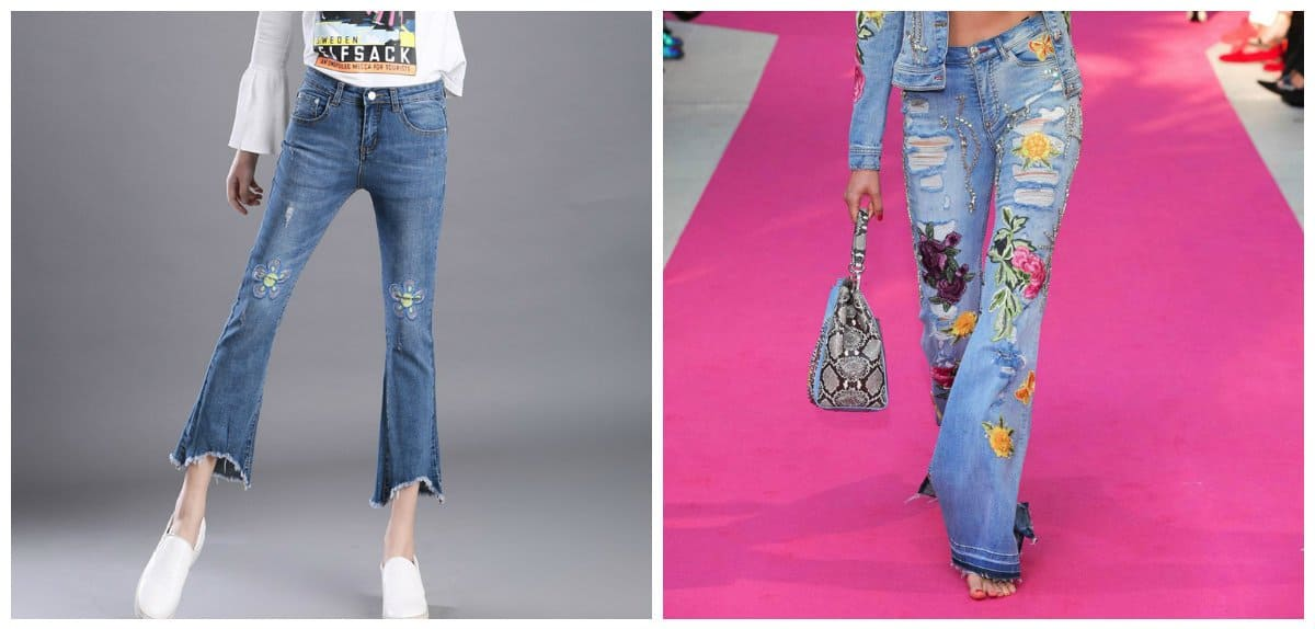 Jeans for women 2018: trends and tendencies for jeans 2018