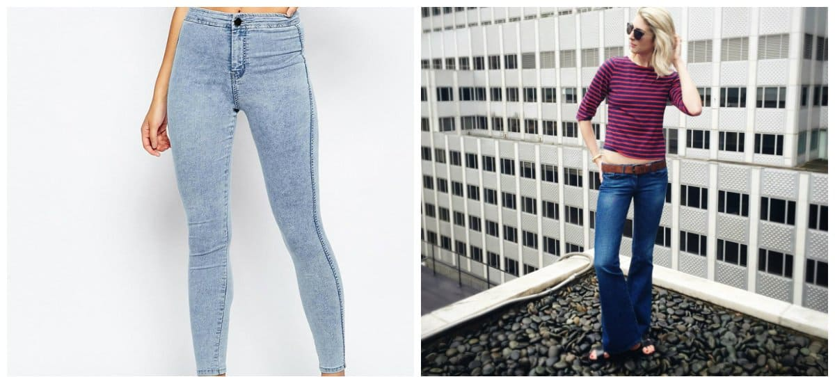 jeans for women 2018-ultra-low-rise- Jeans for women 2018: trends and tendencies for jeans 2018