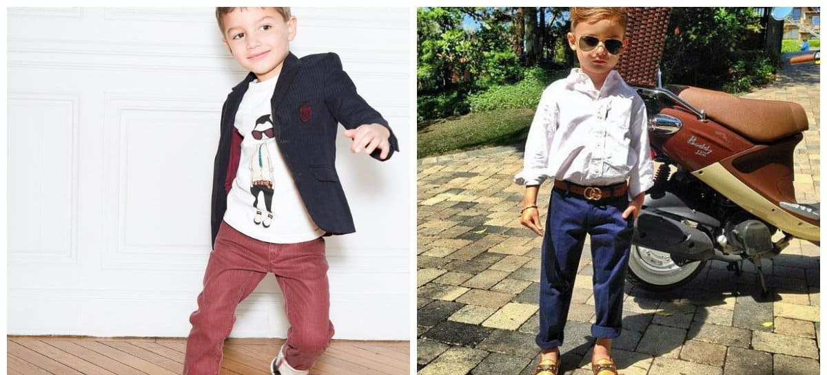 58656d7b Kids fashion 2018: trends and tendencies for boys and girls