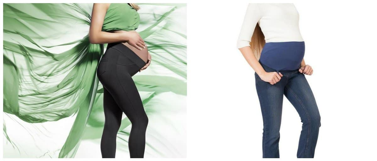 maternity-clothes-2018-trendy-maternity-clothes-maternity-fashion-trends-2018-tights-and-jeans-maternity fashion trends 2018