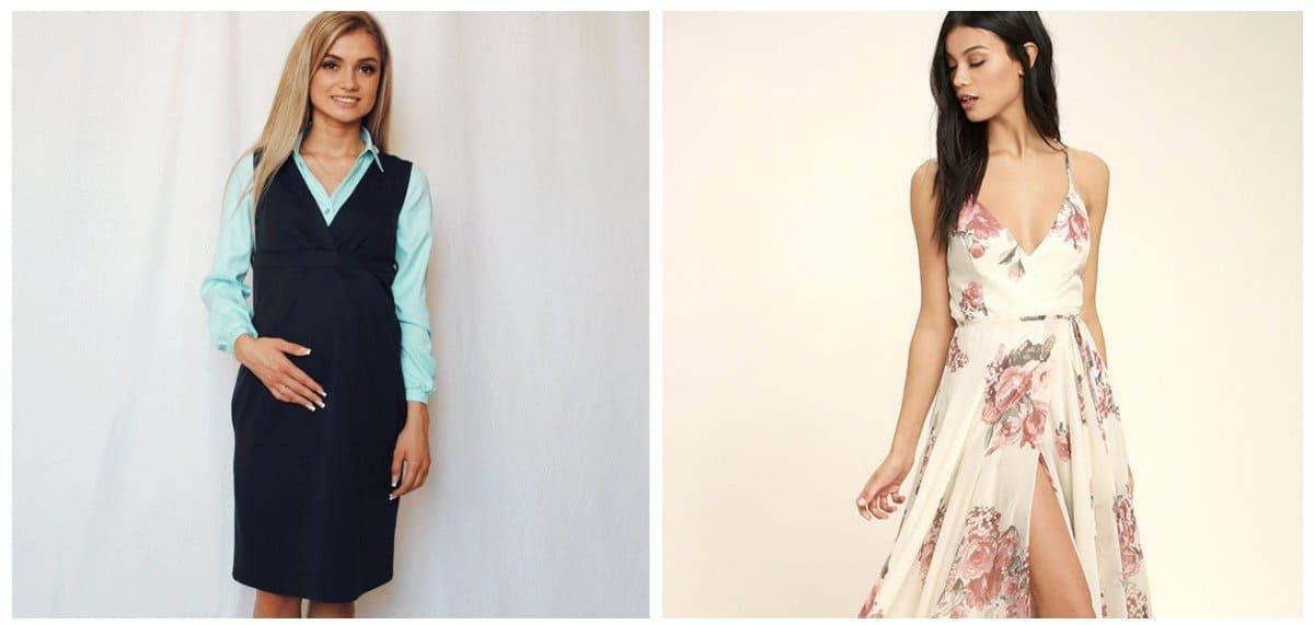 maternity-dresses-2018-dresses-for-pregnant-women-maternity-fashion-2018-sarafans-and-sundresses-dresses for pregnant women