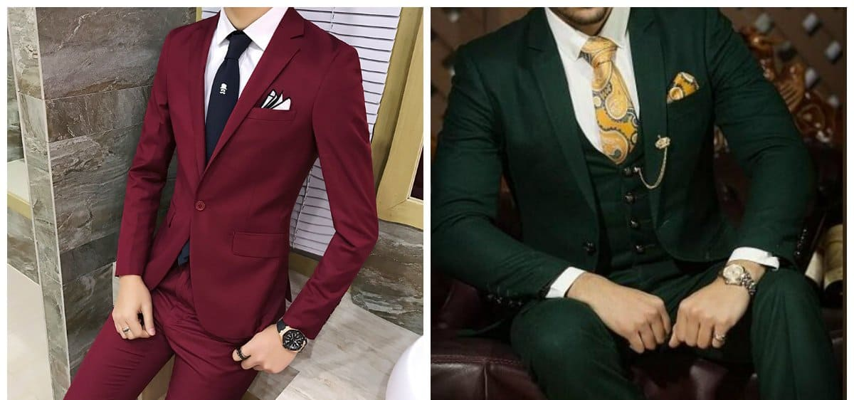 wedding-suits-2018-mens-wedding-suits-2018-groom-suits-green-burgundy-groom suits
