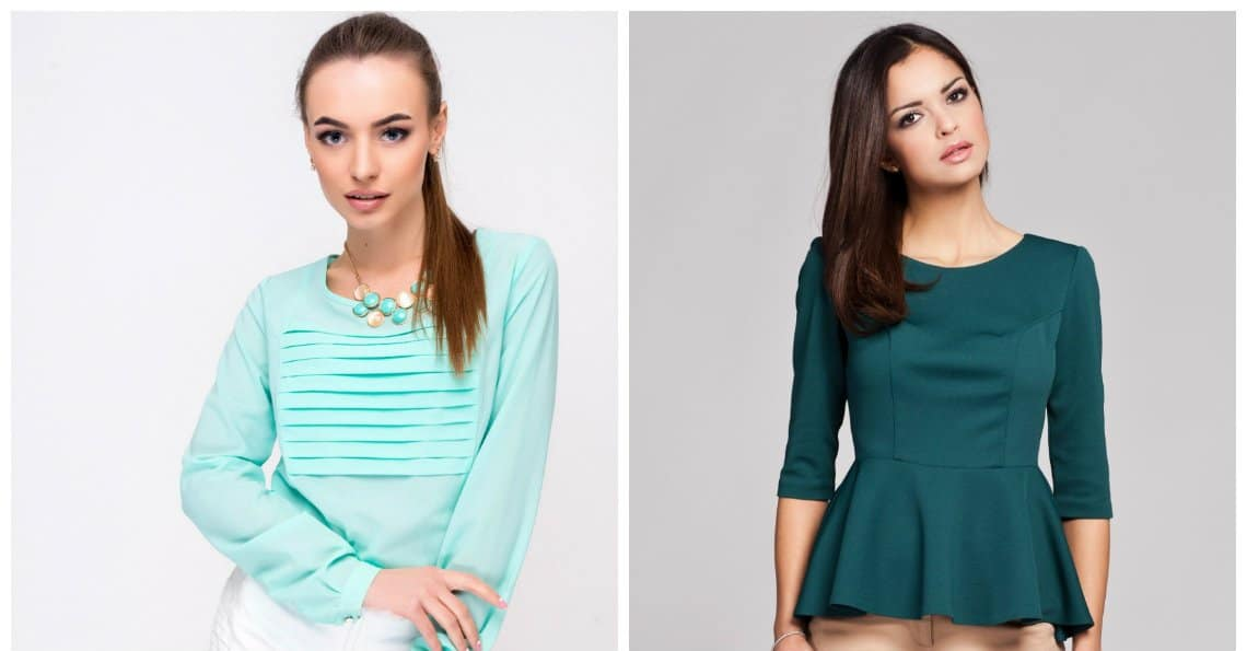 latest blouse designs, blouses with folds, blouses with basque
