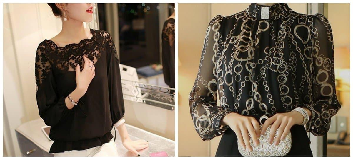 blouse trend 2018, gentle blouses