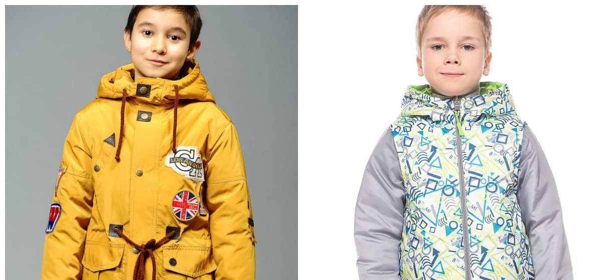 boys outfits, fashionable transformer jackets for boys