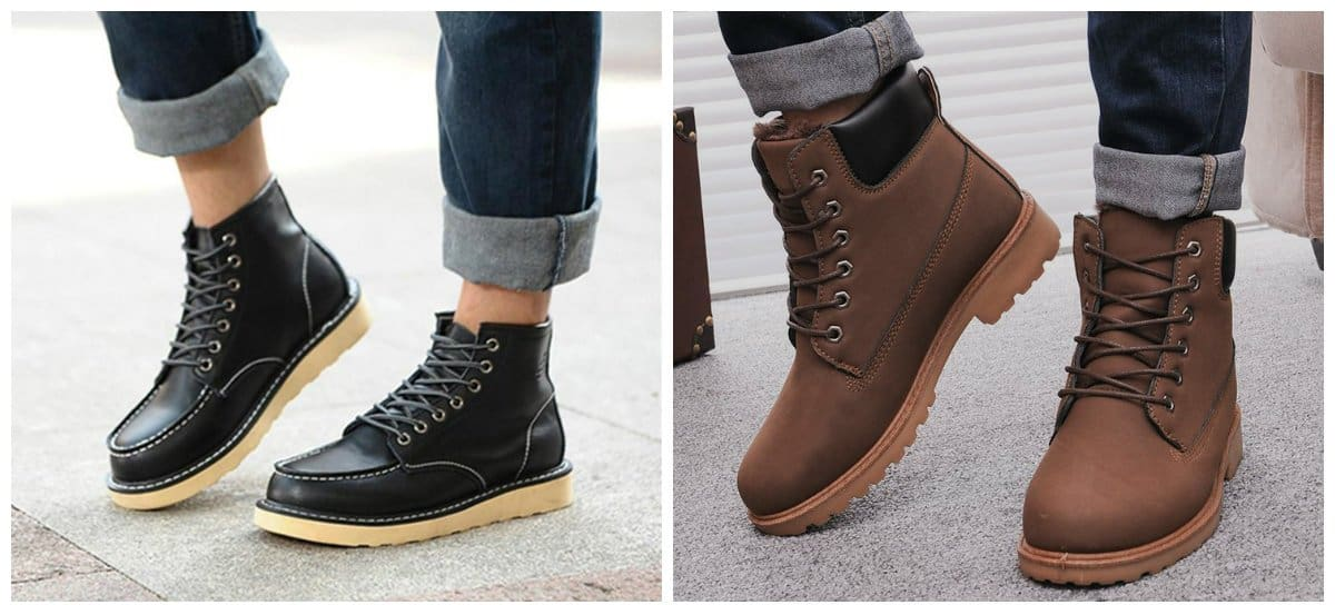 boys casual shoes, stylish warm boots