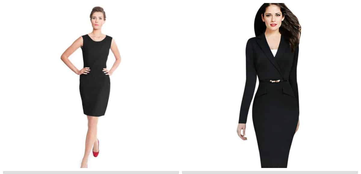 trendy formal dresses, black stylish formal wear