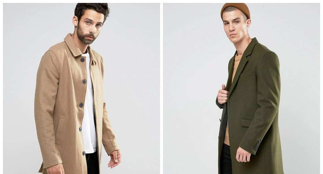 men fashion 2018, drape coats for men