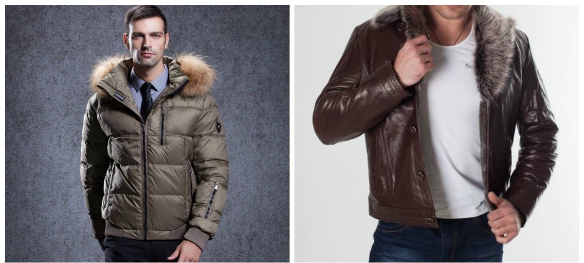 menswear trends 2018, jackets with fur for men