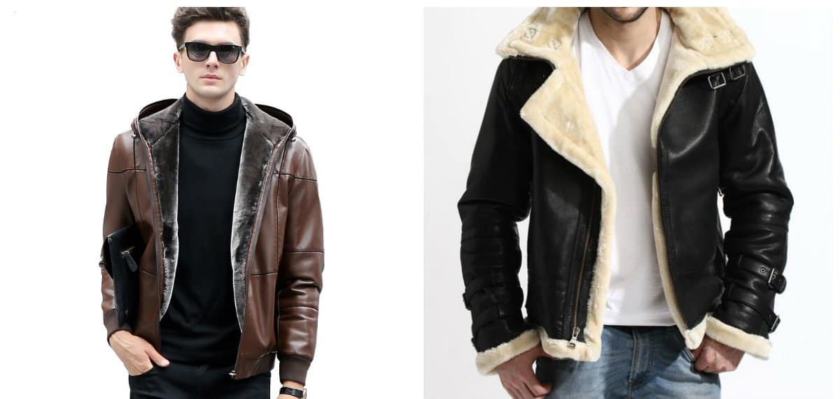menswear trends 2018, leather and lacquer jackets for men