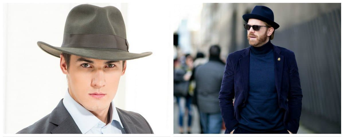 mens fashion hats, trendy colors