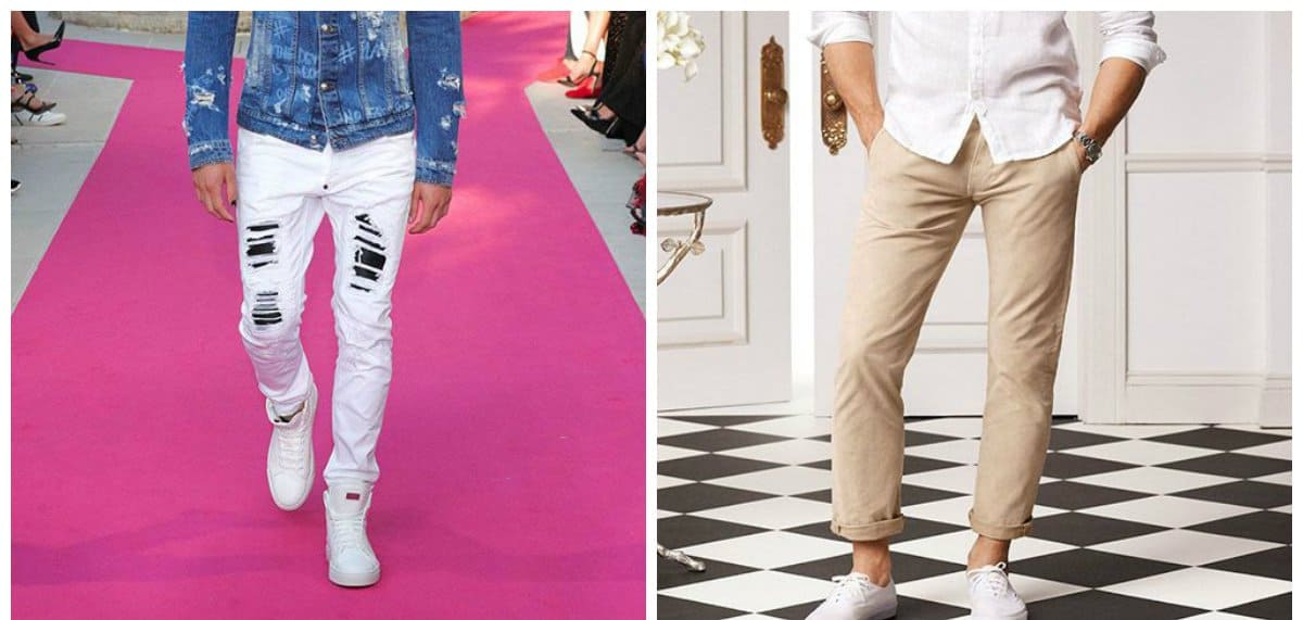 mens fashion jeans, beige jeans for men, white jeans for men