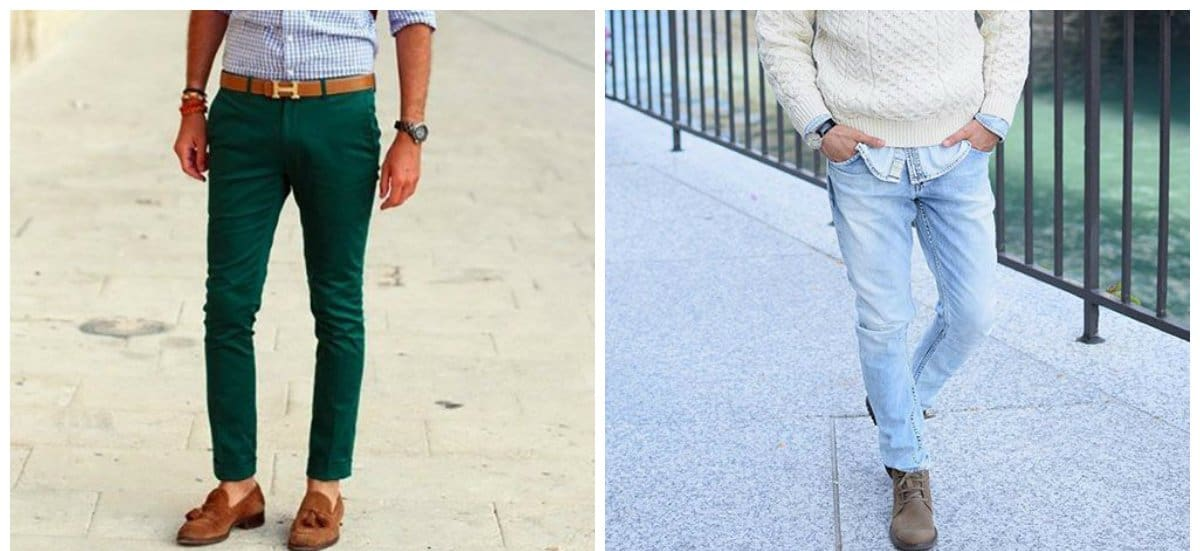 mens fashion jeans, mint jeans for men, indigo jeans for men