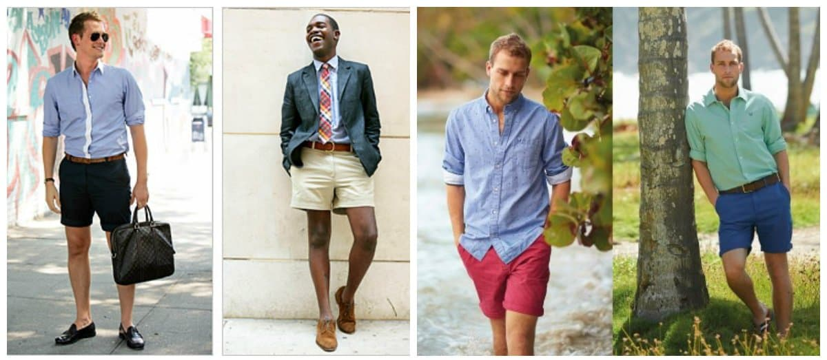 Mens shorts 2018: photos and tips of trendy shorts for men ...