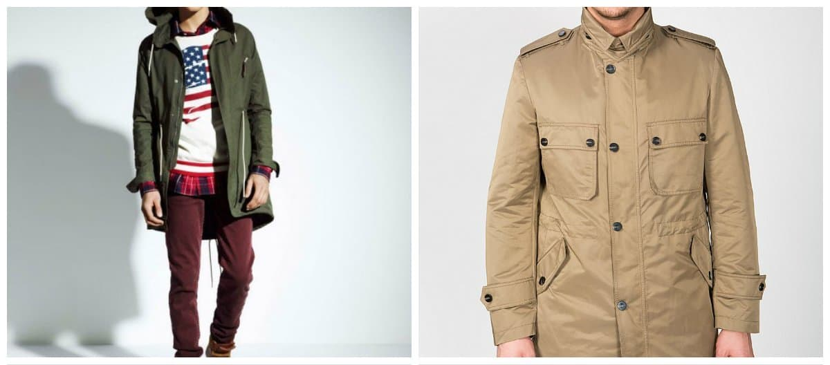 mens fashion jackets, jackets of natural tones