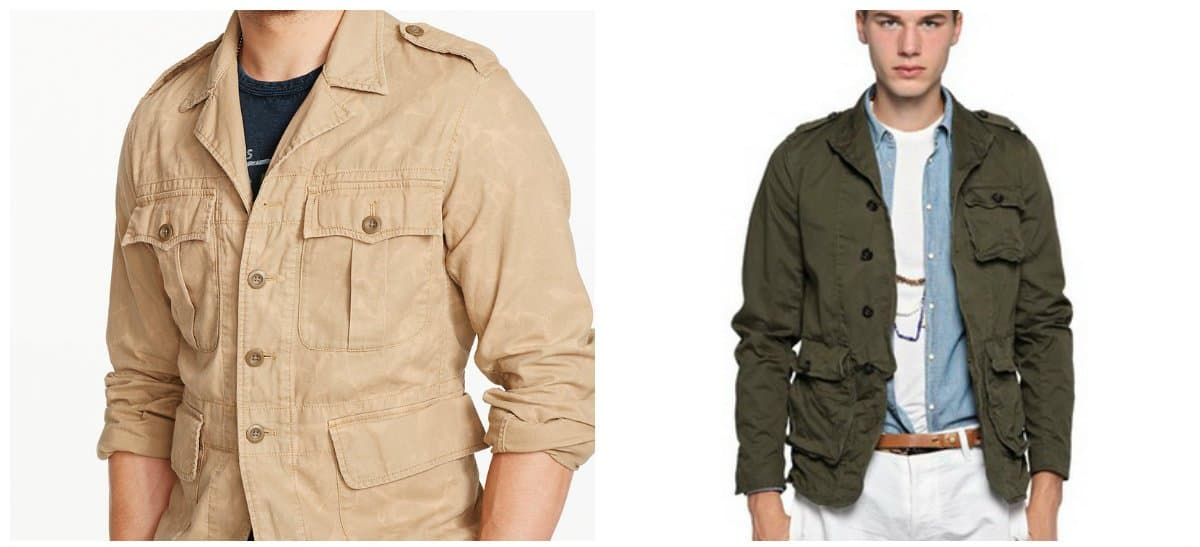 Men's winter jackets 2018, safari jackets