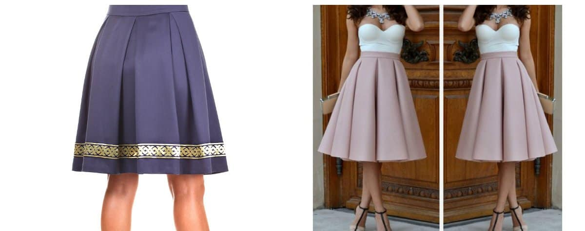 skirts 2018, pleated skirt