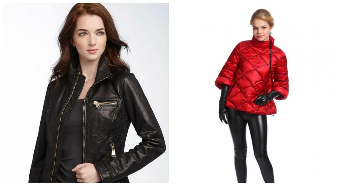 stylish winter jackets, trendy materials for women jackets 2018