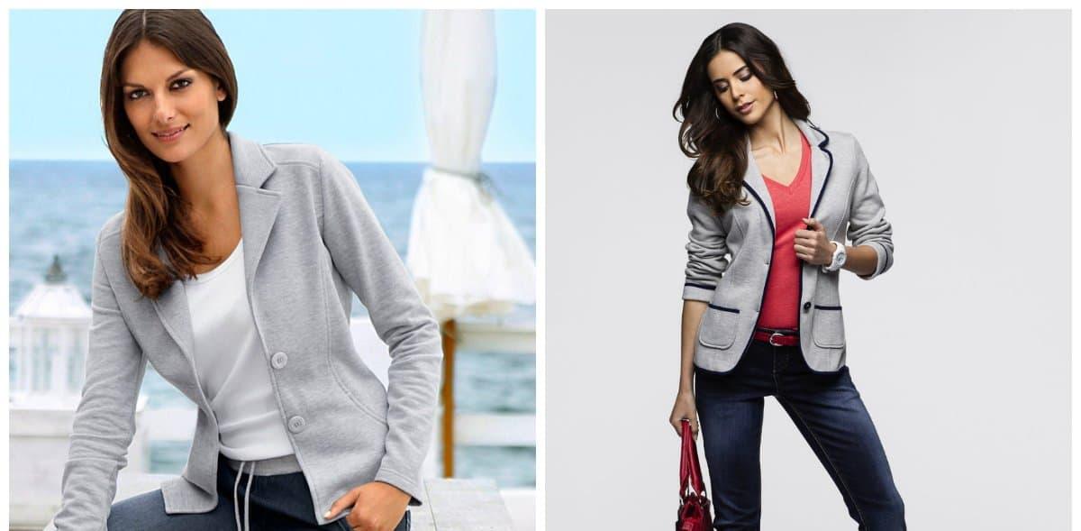 ladies blazer, knitted blazers, women's blazers 2018