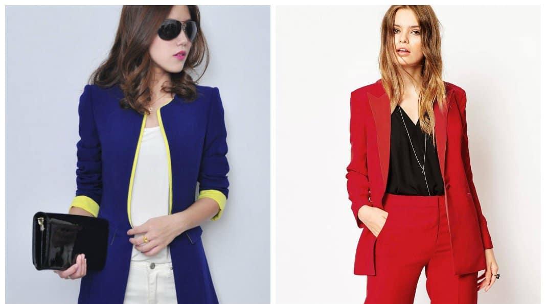 women's blazers 2018, trends and tendencies of female blazer