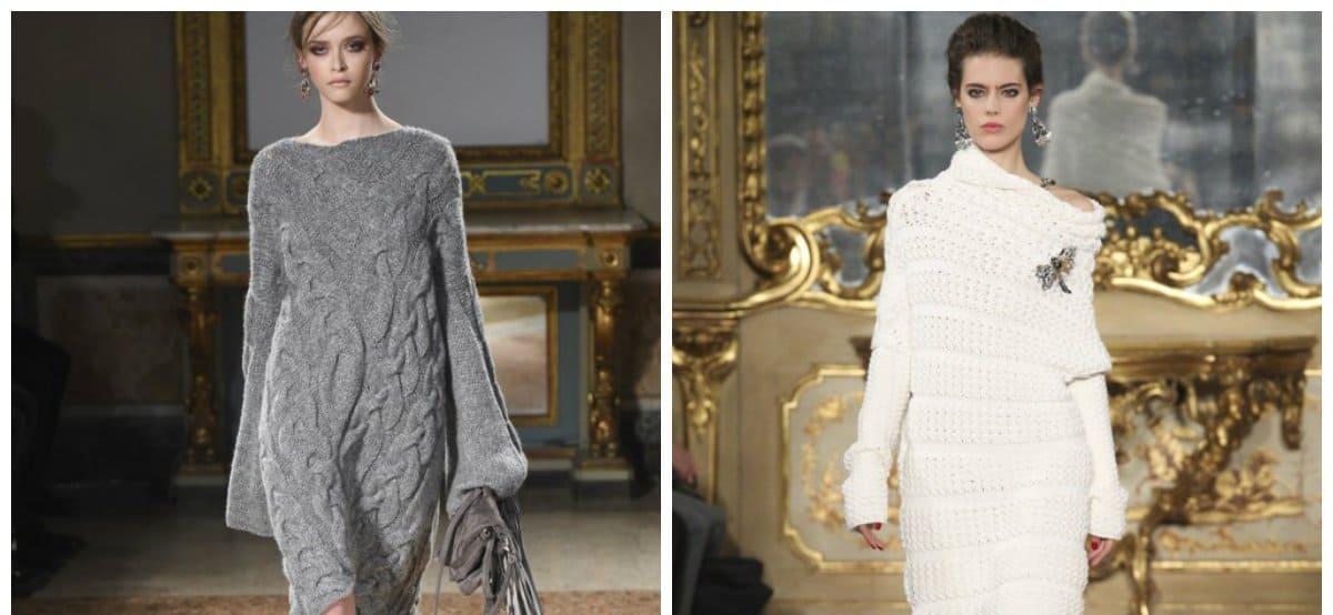 women fashion 2018, knitted elegant dresses for women