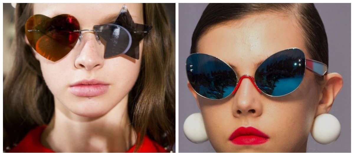 sunglasses for women 2018, bizarre shape sunglasses