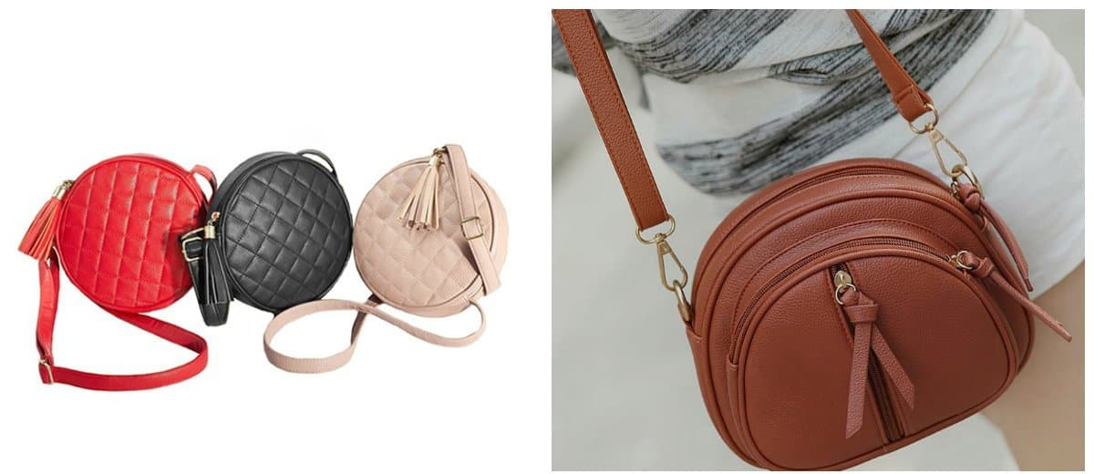 Women's handbags 2018, round shape handbags