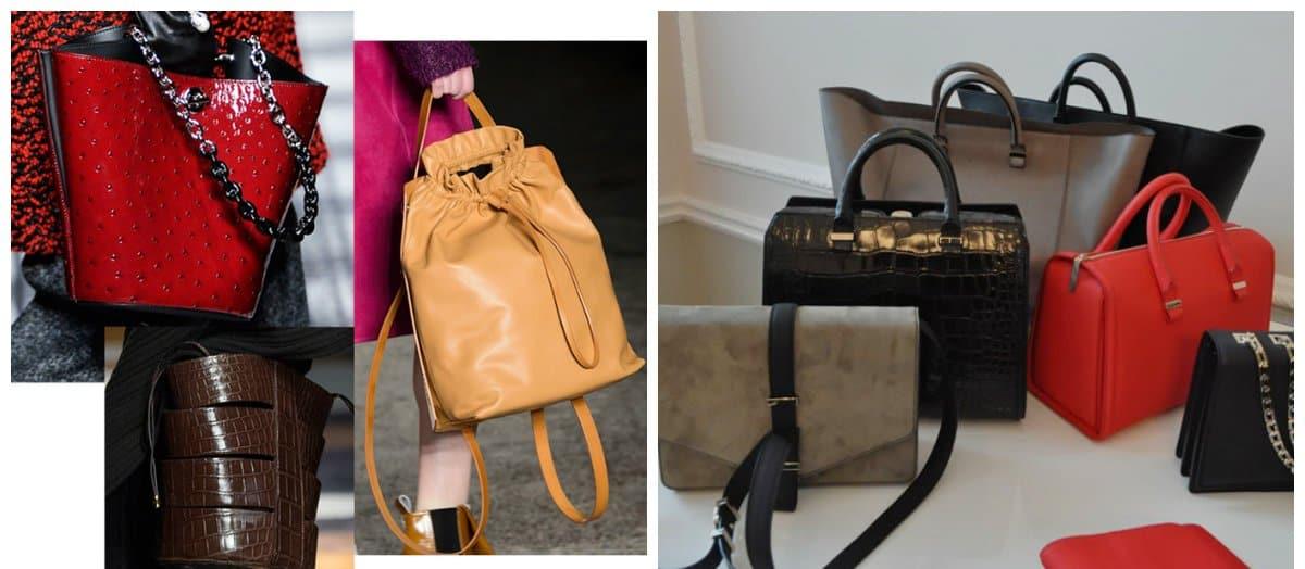Women's handbags 2018, square and rectangular shape handbags