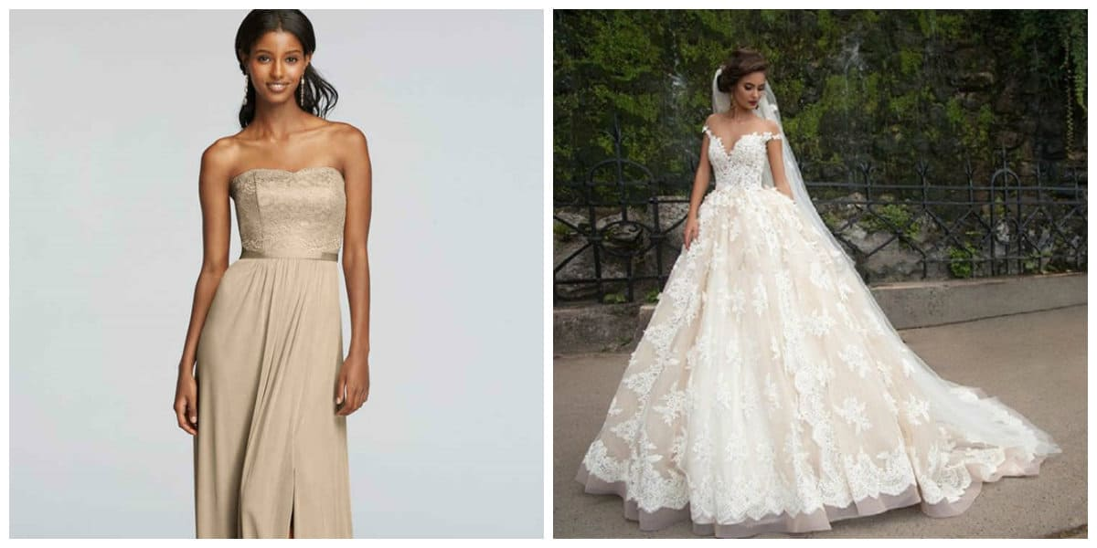 Wedding Dresses 2019 Ireland: Bridesmaid Dresses 2019: The Stylish Trends From Bridal