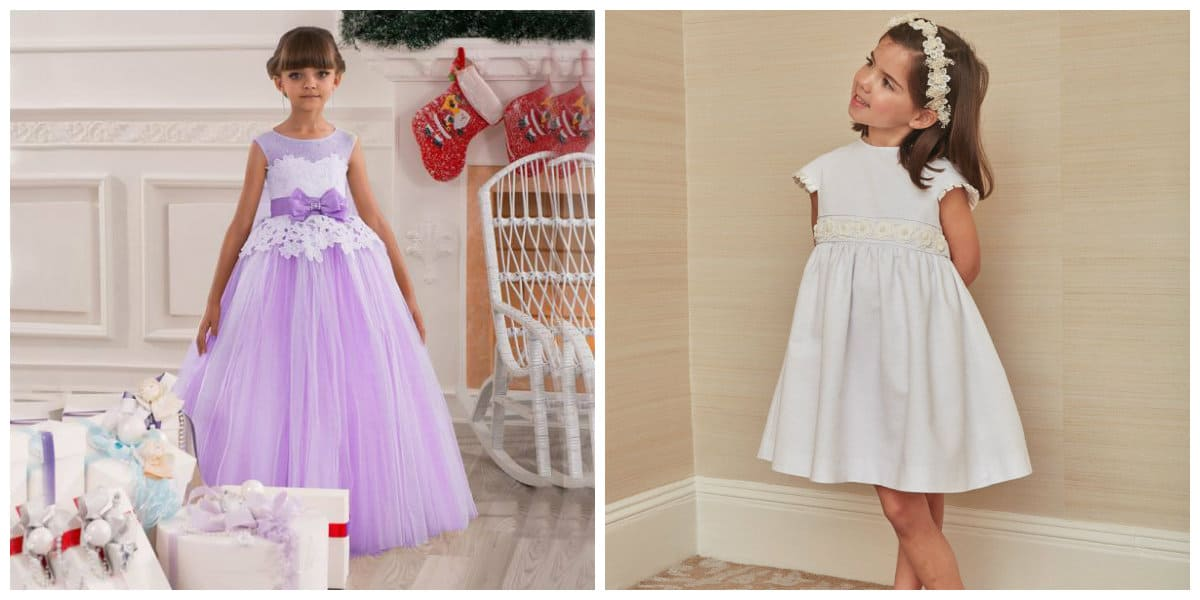 flower girl dresses 2019, girls party dresses 2019, ball gown for girl, empire style dress for girl
