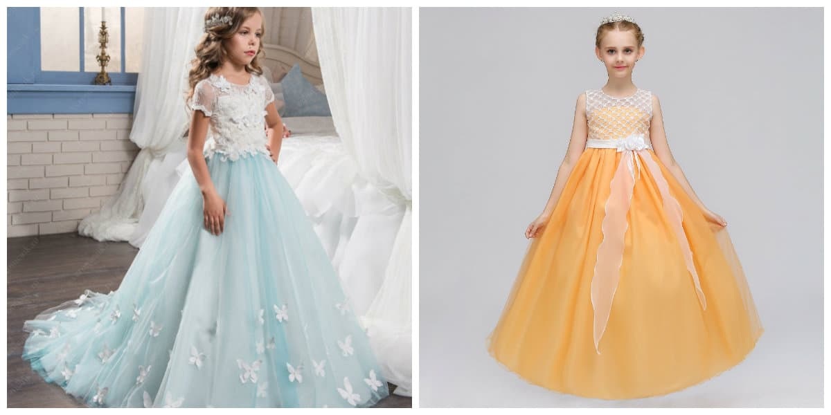 flower girl dresses 2019, girls party dresses 2019, fashion trends and tips