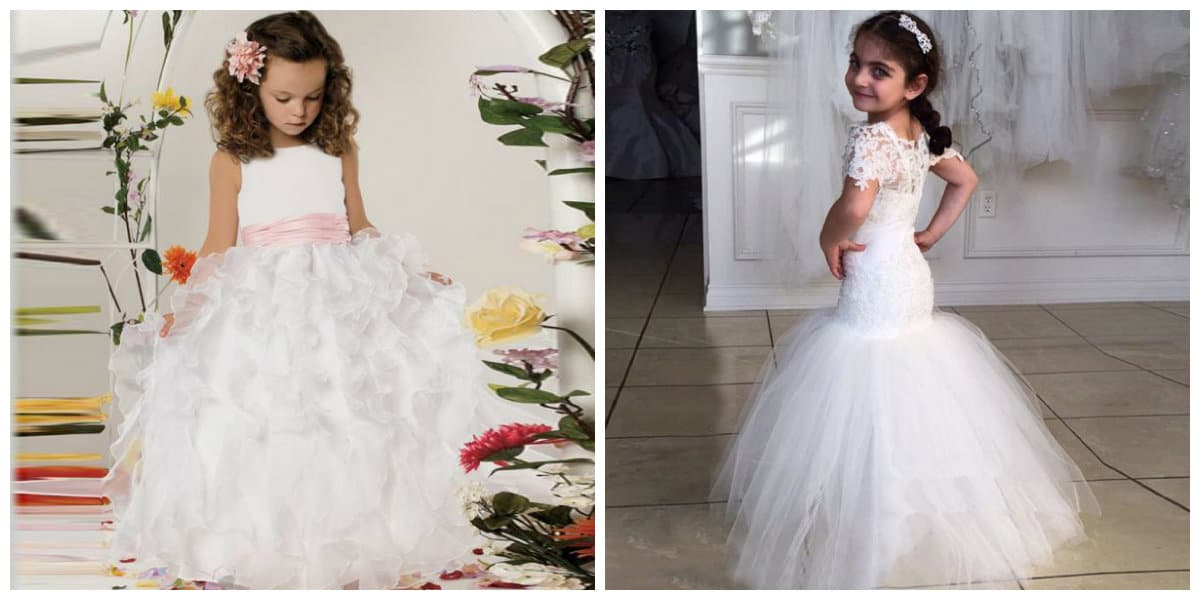 flower girl dresses 2019, girls party dresses 2019, flower girl dress like a bride