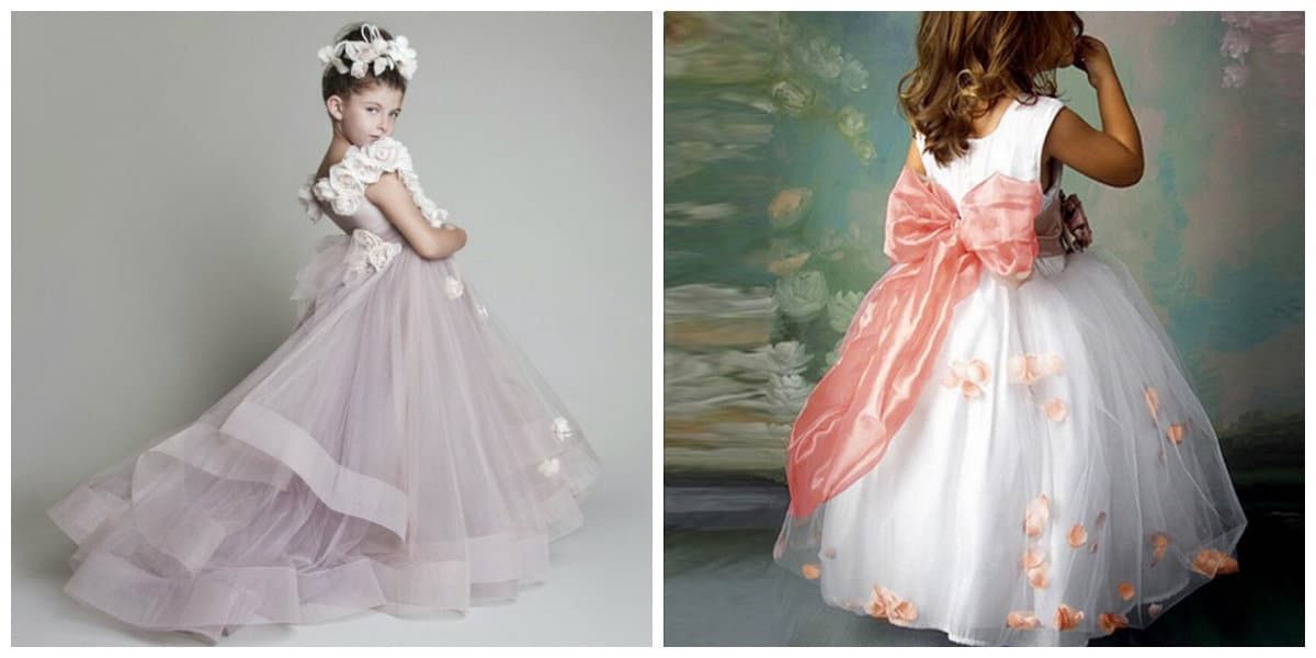 flower girl dresses 2019, girls party dresses 2019, styles and trends