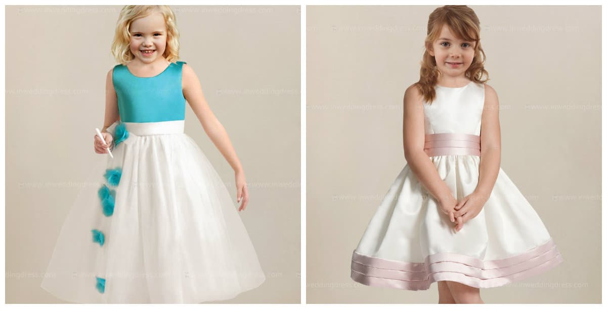 flower girl dresses 2019, girls party dresses 2019, trendy materials and colors for flower girl dresses 2019
