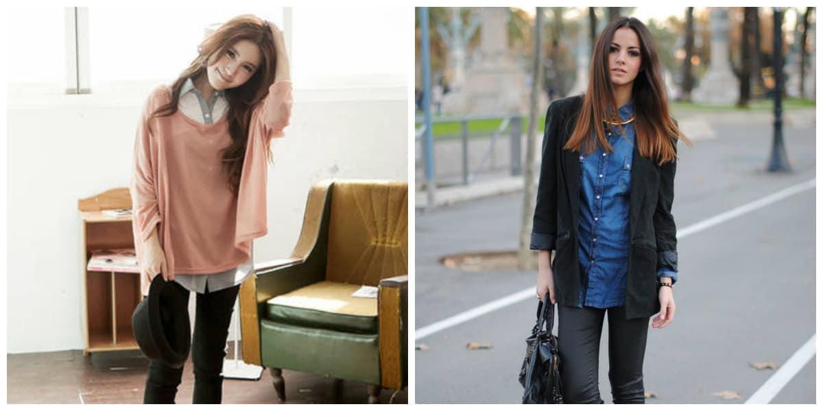 girls fashion 2019, layered style in girls fashion 2019