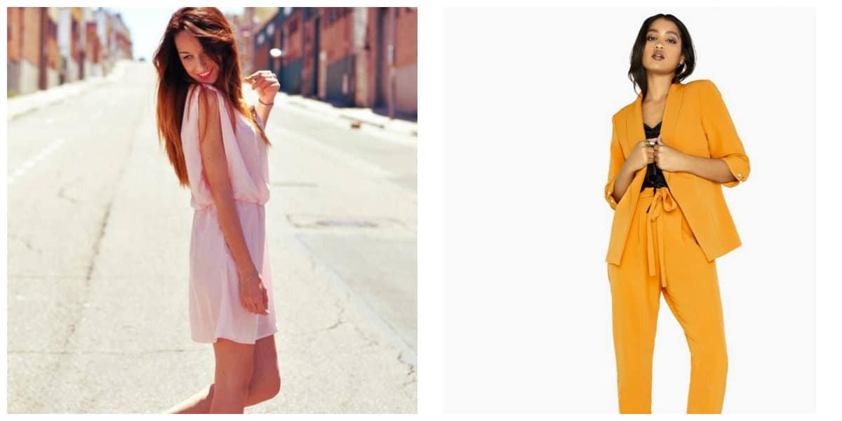 girls fashion 2019, mustard in girls fashion 2019, pink in girls fashion 2019