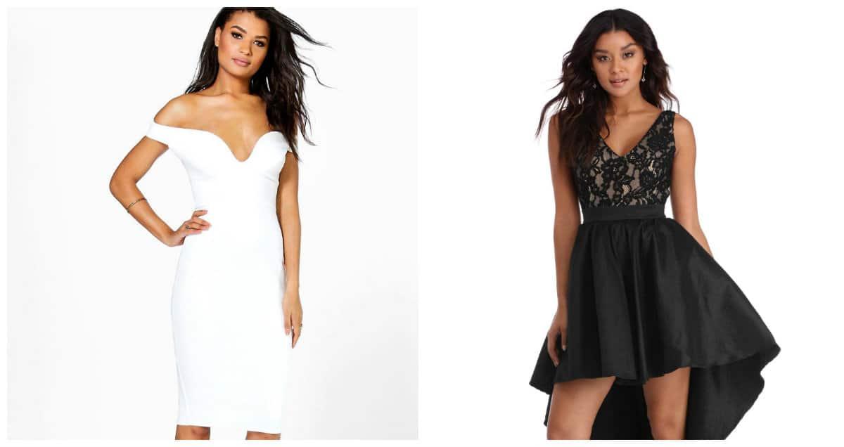 party dresses 2019, women party dresses 2019, black party dress, white party dress