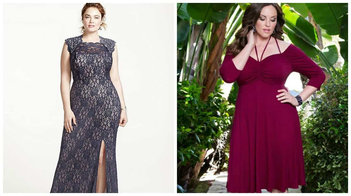 plus size dresses 2019, plus size formal dresses 2019, plus size denim dress 2019, high waisted plus size dress, plus size dress with cut from middle of thigh
