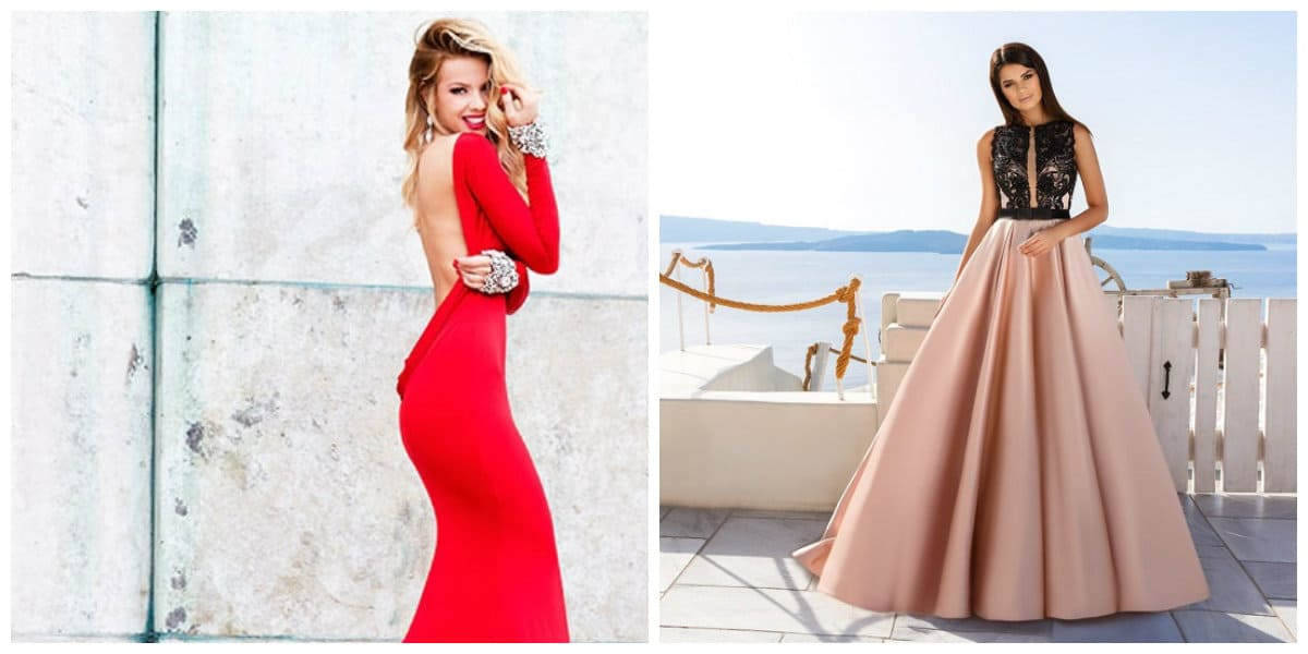 prom dresses 2019, trendy styles and colors of prom dresses 2019