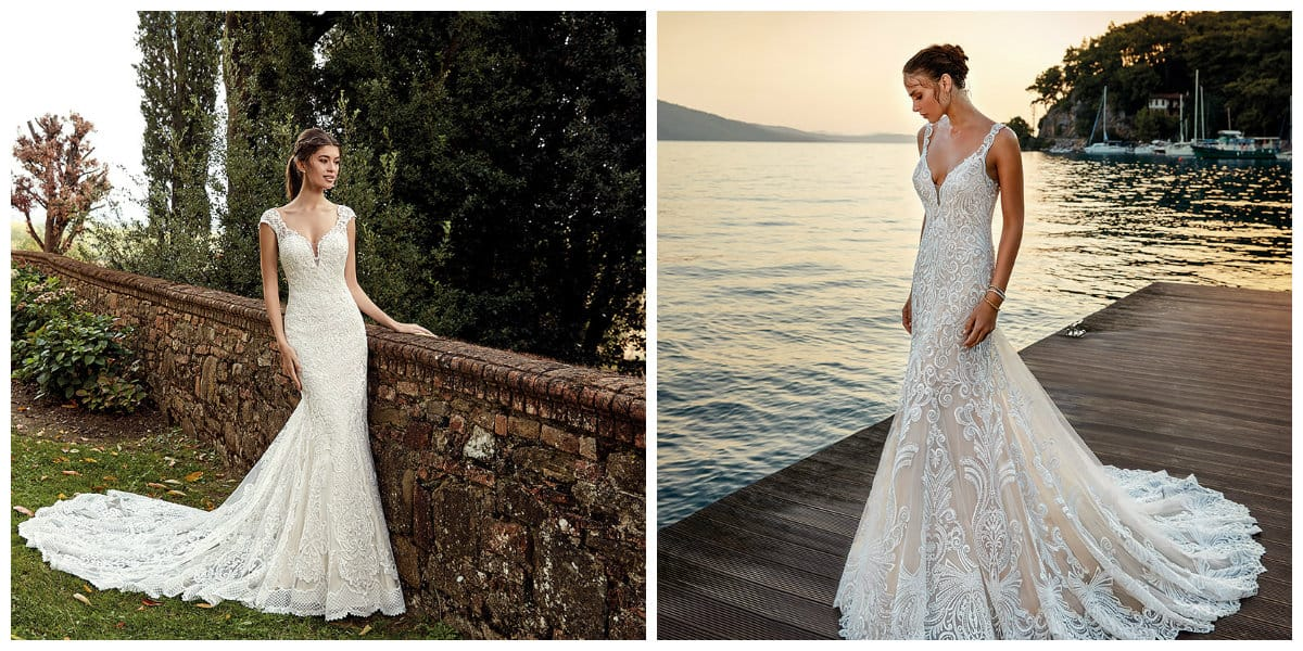 wedding dresses 2019, A-silhouette wedding dresses 2019